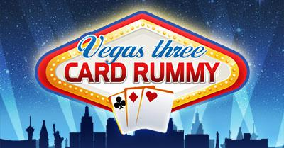 Vegas Three Card Rummy
